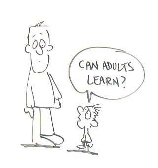 Can adults learn?