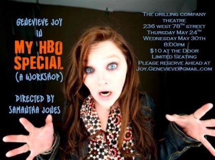 My HBO Special Genevieve Joy