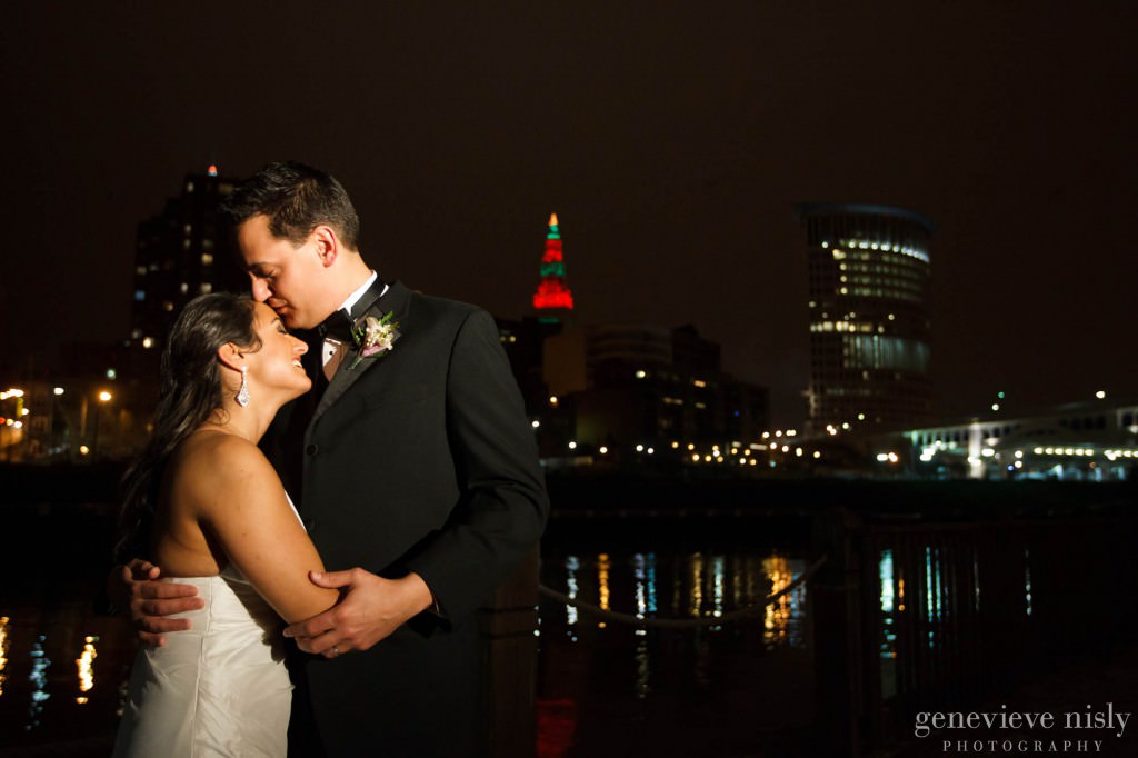 Cleveland, Copyright Genevieve Nisly Photography, Ohio, Wedding, Windows on the RIver, Winter
