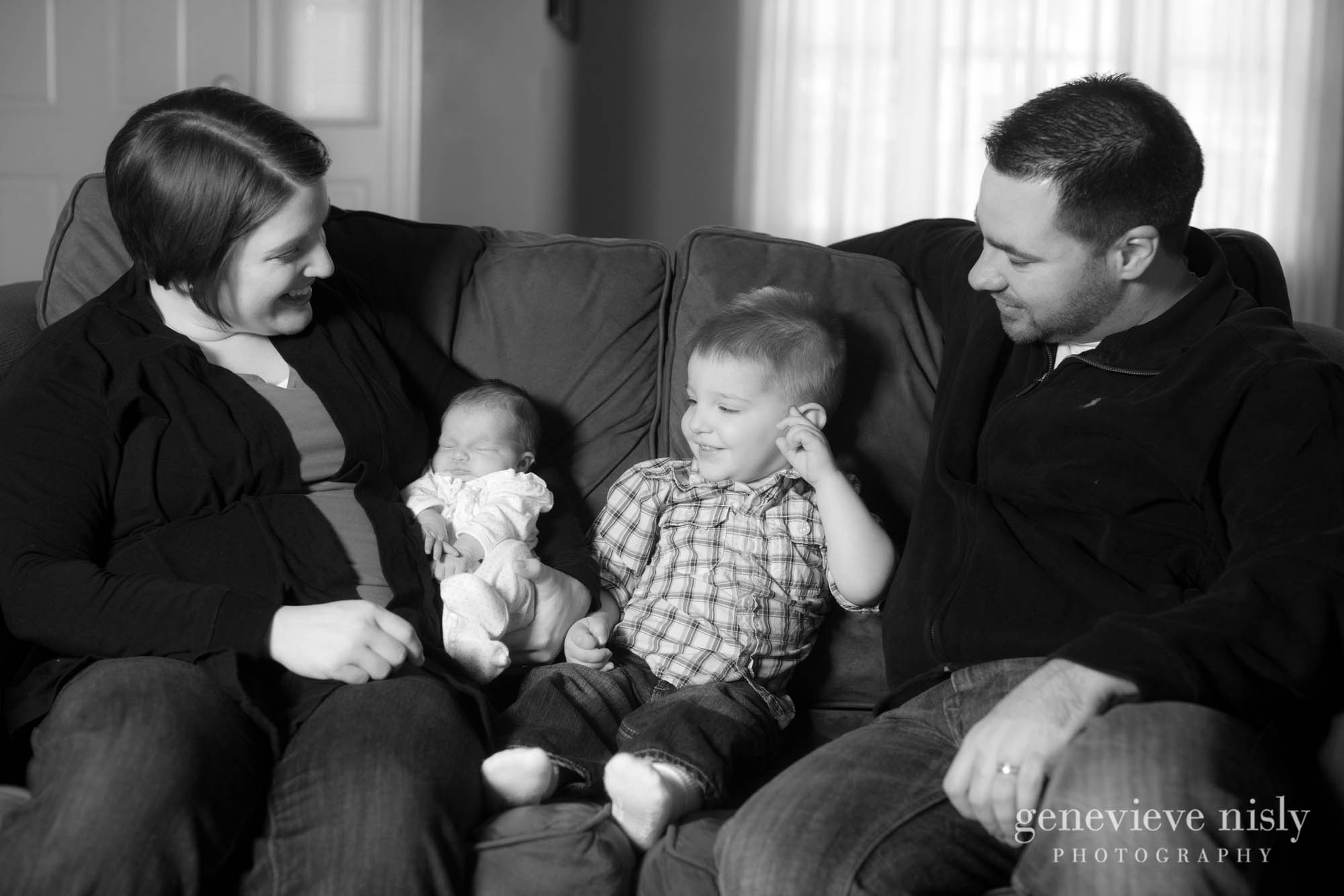 Akron, Copyright Genevieve Nisly Photography, Family, Ohio, Portraits