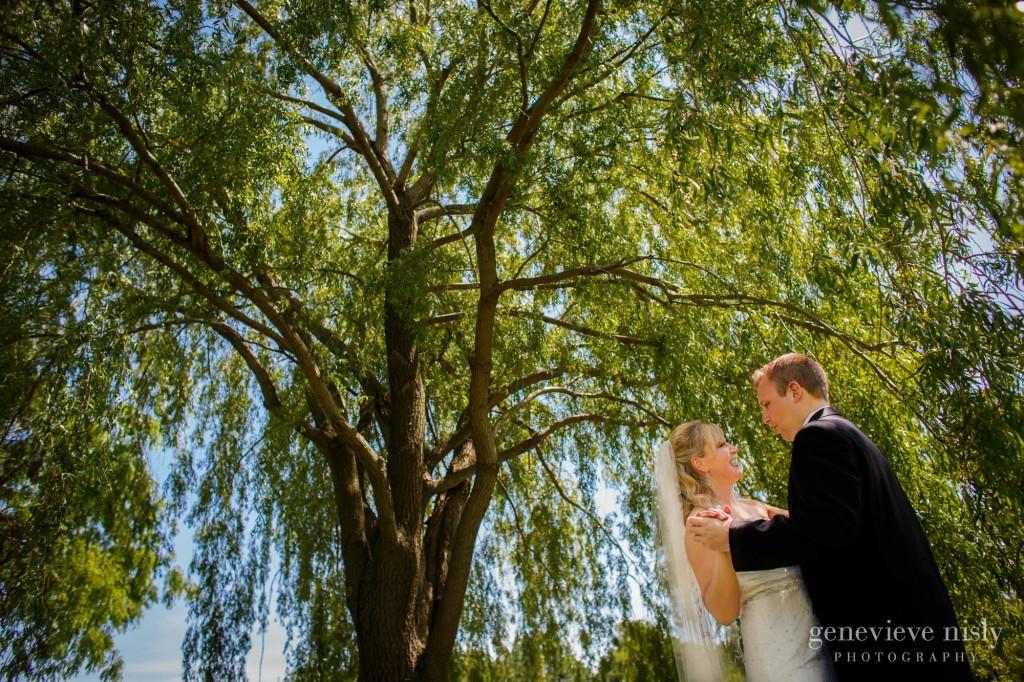 Cleveland, Spring, Wade Lagoon, Wedding
