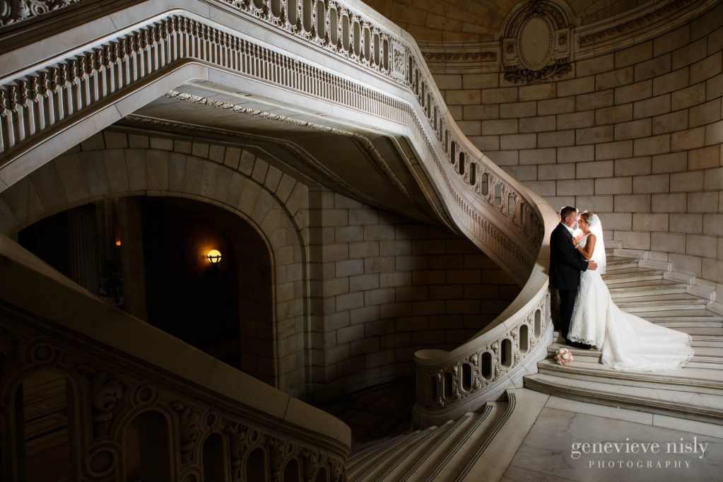 Cleveland, Copyright Genevieve Nisly Photography, Old Courthouse, Summer, Wedding