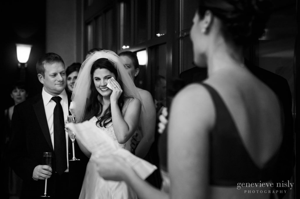 Cleveland, Club at Key Center, Copyright Genevieve Nisly Photography, Ohio, Wedding, Winter