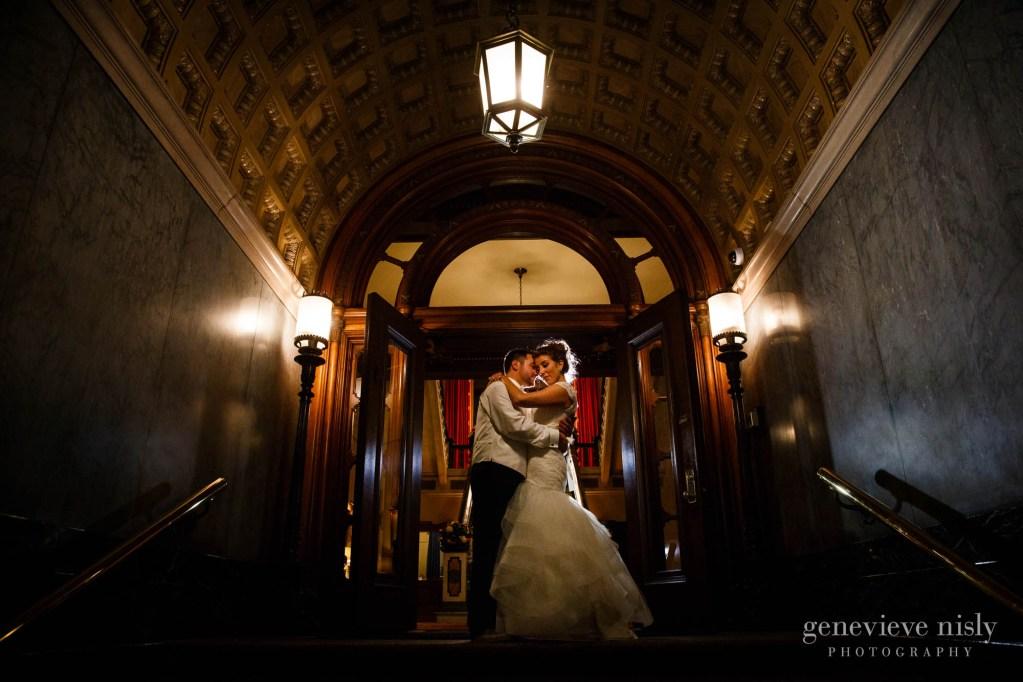 Cleveland, Fall, Ohio, Union Club, Wedding