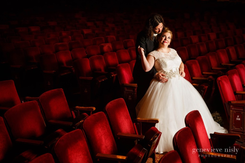Cleveland, Copyright Genevieve Nisly Photography, Ohio, Palace Theater, Summer, Wedding
