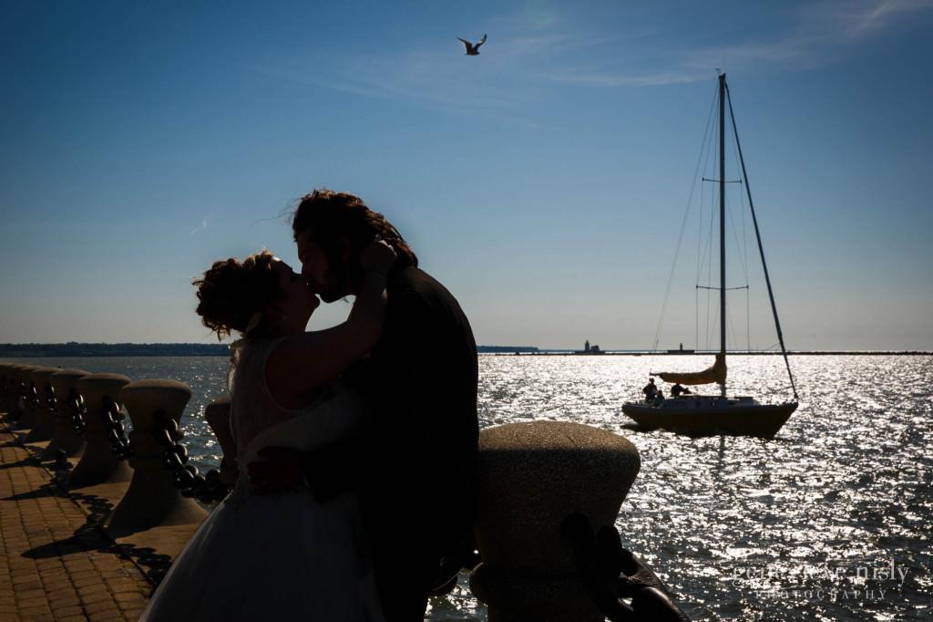 Cleveland, Copyright Genevieve Nisly Photography, Ohio, Summer, Voinovich Park, Wedding