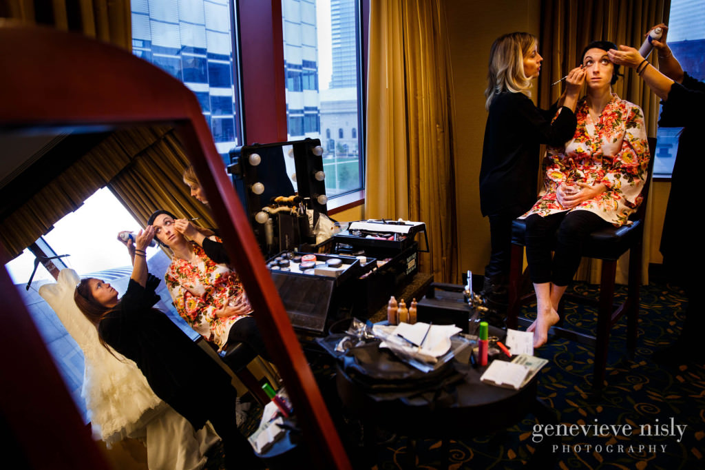 Cleveland, Copyright Genevieve Nisly Photography, Marriott Key Center, Ohio, Wedding, Winter