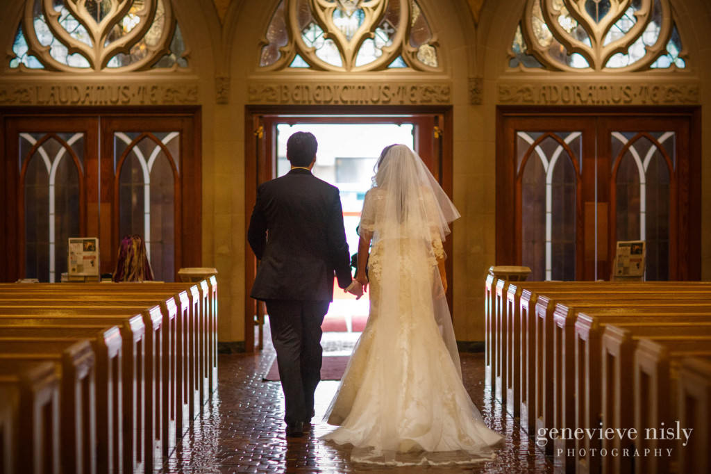Cleveland, Copyright Genevieve Nisly Photography, Fall, Ohio, St. John's Cathedral, Wedding