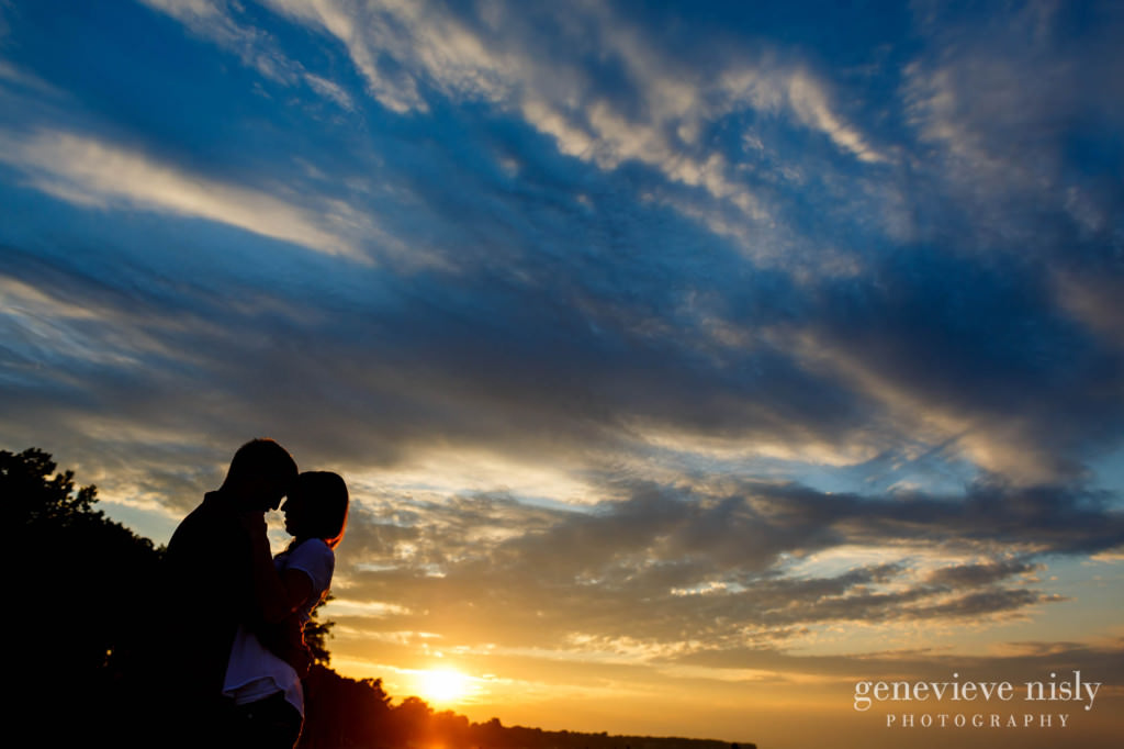 Copyright Genevieve Nisly Photography, Engagements, Huntington Beach, Rocky River, Summer