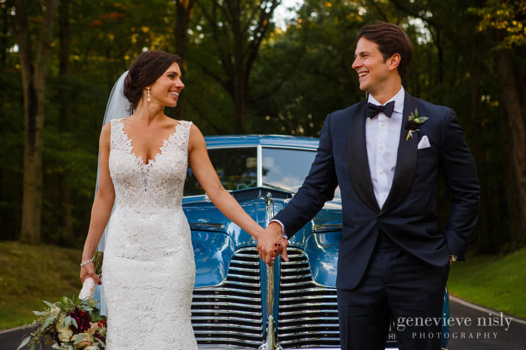 Ohio, Copyright Genevieve Nisly Photography, Wedding, Fall, Canton, Brookside Country Club