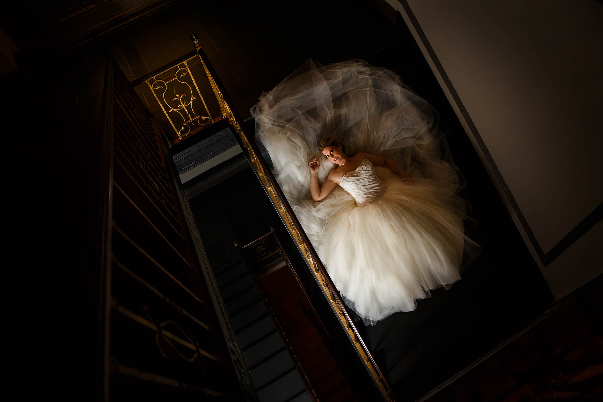 Cleveland, Copyright Genevieve Nisly Photography, Ohio, Tudor Arms Hotel, Wedding, Winter