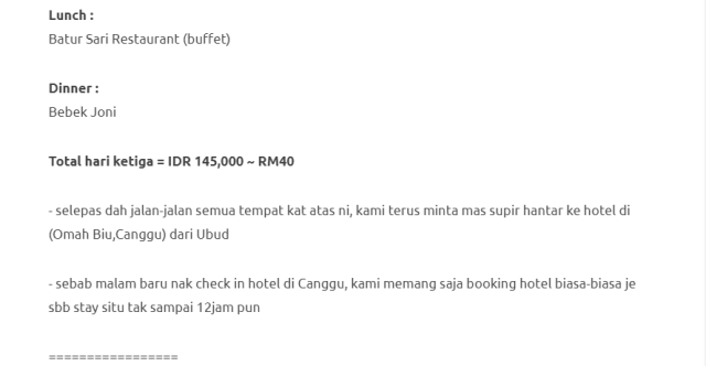 Duduk Di Villa, Private Pool, Gadis Ini Kongsikan Honeymoon Di Bali Dengan Bajet RM1000 Je! 15