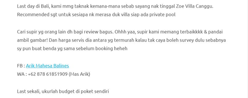 Duduk Di Villa, Private Pool, Gadis Ini Kongsikan Honeymoon Di Bali Dengan Bajet RM1000 Je! 21
