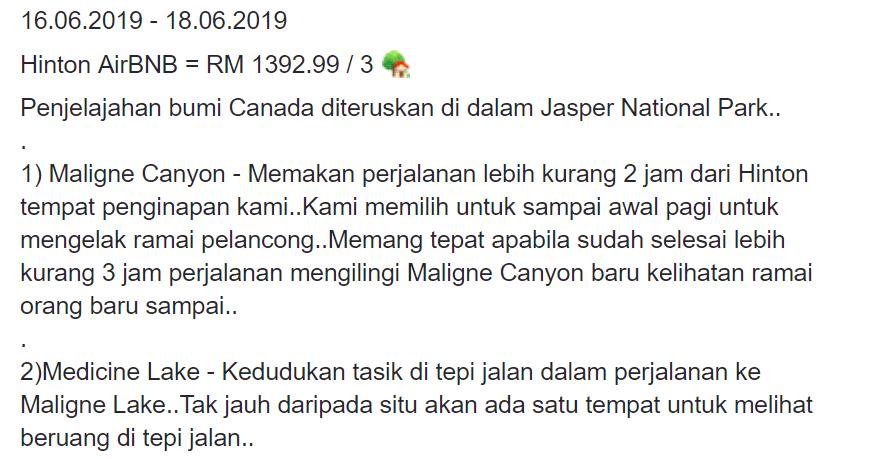 Permandangan Indah Dijanjikan Road Trip Ketika Melancong Ke Kanada. Lelaki Ini Kongsikan Itinerarinya 7