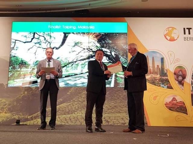 Taiping Di iktiraf Antara Bandar Terbaik Dunia 1