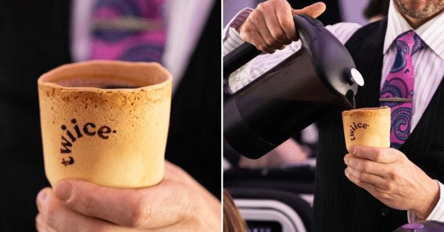 Cawan Berperisa Vanilla Yang Boleh Di Makan Diperkenalkan Oleh Air New Zealand