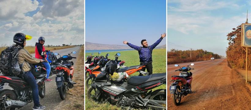 Jelajah Ke 5 Sempadan Asia Tenggara Dengan Motosikal Ysuku Selama 13 Hari. Steady! 1