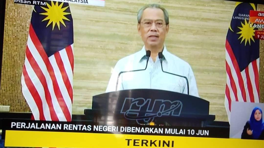 PKP Pemulihan Dilaksana, Rentas Negeri Dibenarkan 1