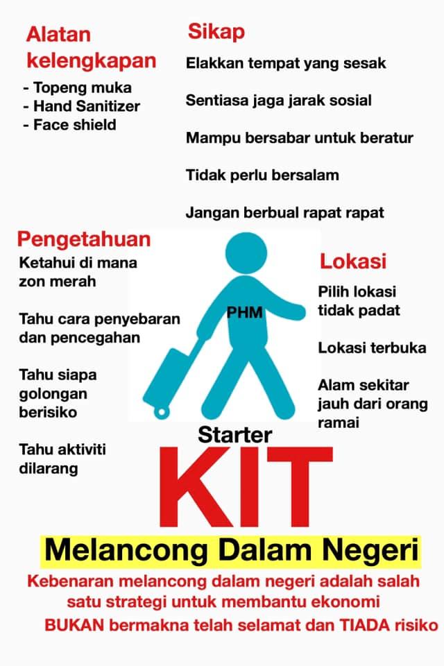 Starter Kit Melancong Dalam Negeri Pasca PKP 1