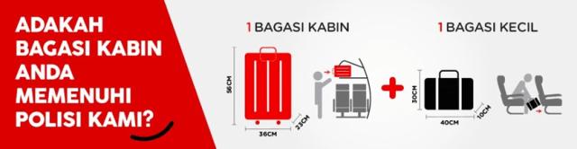 AirAsia Benarkan 2 Beg Kabin, Beg Troli Dibenarkan Dengan Syarat 1