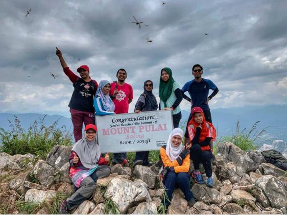 3 Lokasi Pendakian Wajib Jika Anda Ke Kedah & Perlis. View Sangat Cantik, 'Newbie' Pon Boleh Daki! 1