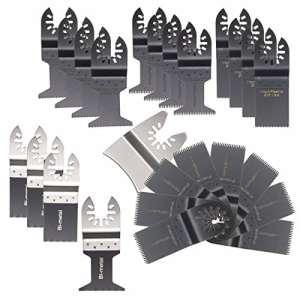 BABAN 25pcs Mix Lames de scie alternative Lame oscillante pour Fein Multimaster Bosch Makita outils à usages multiples
