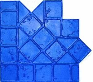 BonWay 32-174 Matrice bordure pour béton décoratif Motif Torino 35,5 x 121,2 cm