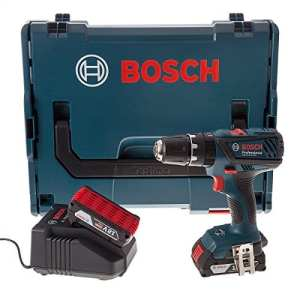 Bosch GSB18-2-LI PLUS Perceuse visseuse à percussion 2 x 18 V 2 Ah