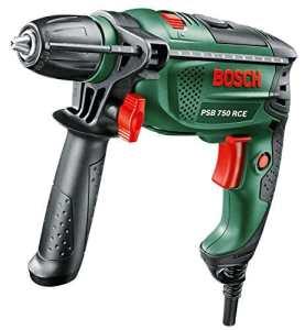 Bosch Perceuse à percussion «Universal» PSB 750 RCE à régulation électronique avec coffret 0603128500