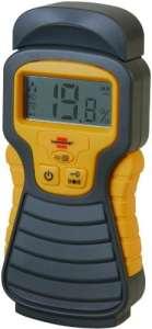 brennenstuhl – Humidimètre MD Jaune / Anthracite affichage LCD