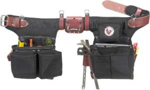 Occidental Leather 9515LH Ceinture porte-outils pour gaucher Taille ajustable