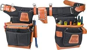Occidental Leather 9850 Ceinture porte-outils Taille ajustable Noir