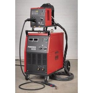 SEALEY powermig6035s 415V 350A torche mig avec Binzel Euro professionnelle et fil portable Drive