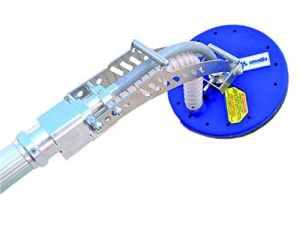 Ausonia–carteggiatrice à transmission flexible directe à large rayon moteur à triple réduction mécanique en magnésium de 220V–1200W. contrôle tachimetrico électronique des tours de 240à 1250tr/min.
