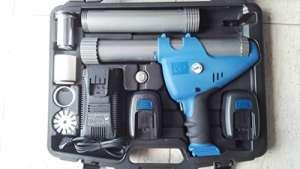 Pistolet pour silicone à batterie 12V professionnelle avec compresseur