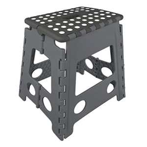 DKB Plastic Folding Step Stool Black 39.5Òx 29Òx 21.5Òcm by DKB – Tools – Germany