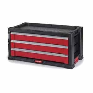 Keter 221481 Servante à outils avec 3 tiroirs