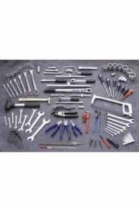 King Dick Professional Service Metric and AF Tool Set – TKU1012 by King Dick
