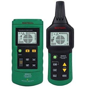 Elikliv Detecteur de Câble Électrique 12 ~ 400V AC / DC Professional en Metal Pipe Détecteur de Localisation Testeur de Multifonction
