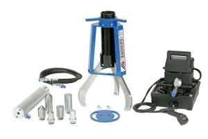 Gedore Extracteur hydraulique à 3 griffes, 13 t, avec vérin hydraulique et pompe manuelle 2209764