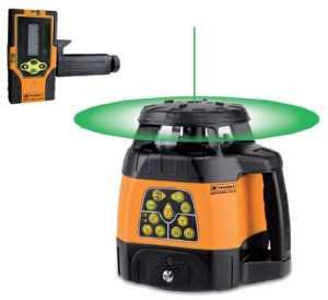 Geofennel – Laser GEOFENNEL / vert rotatif motorisé automatique horizontal et vertical FLG 240HV-Green livré en coffret avec cellule de réception