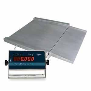 Balance de poche d'acier inoxydable de métrologie légale RGI 1400(1500kgx500g) (150x 120cm)