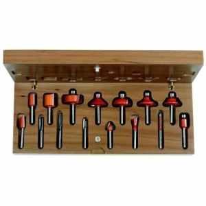 CMT Orange Tools 700,001,00-Coffret de 15 Fraises droites et perf. s dx 6 hm