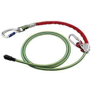 Halte Corde avec corde Plus courts et stahlkern prot30, ce, en358plantage Disjoncteur Connexion Amortisseur cas bande intermédiaire échafaudage Construction couvreur coton Entretien PSA