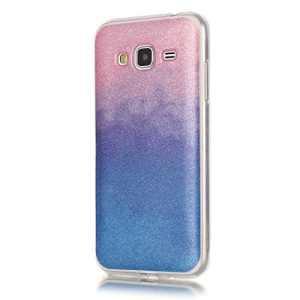 Samsung G530, Samsung G530Coque en TPU, Samsung G530Housse étui, housse pour Samsung G530, Coque en TPU souple pour Samsung G530, ultra slim [anti-rayures] [ajustement parfait] pour, Glitter Bling étoiles Ciel Transparent Design Voir à travers Coque de protection pour Samsung G530