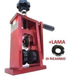 Utensili-Tools-Shop Machine pour dénuder des câbles, outil à dénuder, récupération, cuivre + lame de rechange