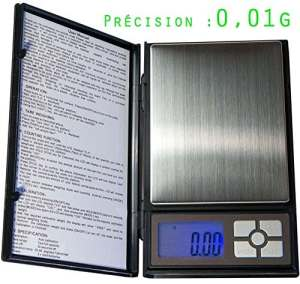 Balance Haute Précision taille XL – très précise : 0.01 g – max 500g