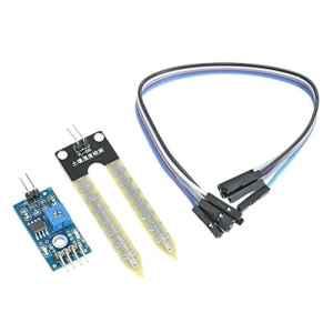 Gazechimp Module Hygromètre Détection Test Capteur d'humidité du Sol Pour Arduino 3.3V-5V