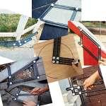 Foval Angleizer Outil de modèle en alliage d'aluminium Outil Règle & # Xff0C; Premium en alliage d'aluminium Règle avec niveau à bulle