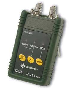 Greenlee 570x L-fc Source LED avec interface FC, 850/1300nm
